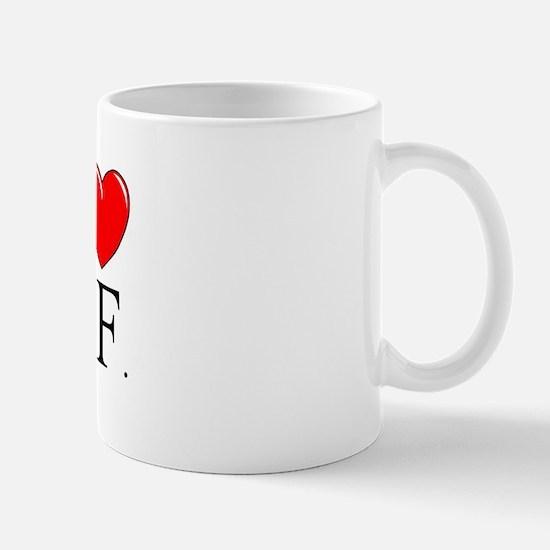 """""""I Love S.F."""" Mug"""