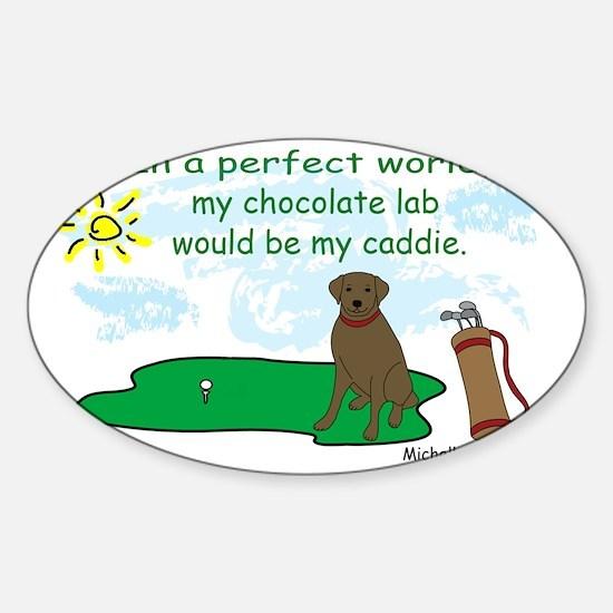 ChocoLab Sticker (Oval)