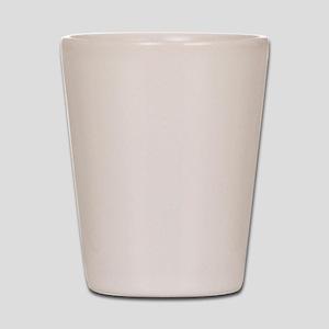 2012 MAYAN CALENDAR WHITE Shot Glass
