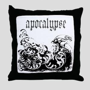 apocalypse1 Throw Pillow