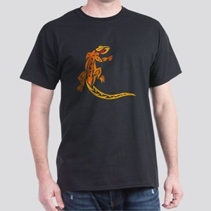 Lizard orange 10x10 Dark T-Shirt