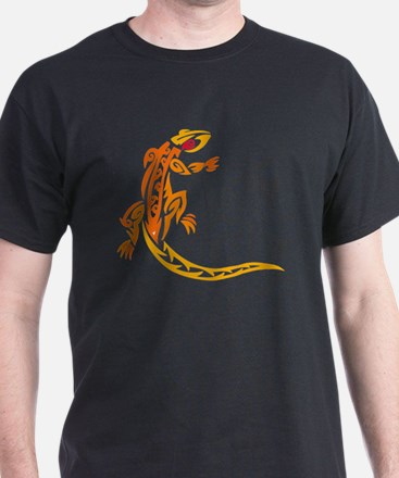Lizard orange 10x10 T-Shirt