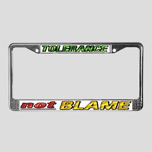 Toleranceblame Lpt License Plate Frame