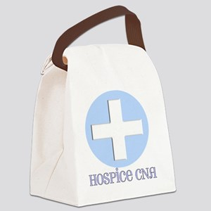 hospice cna CROSS Canvas Lunch Bag