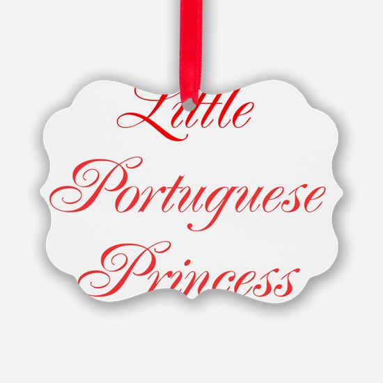 Little Portuguese Princess Ornament
