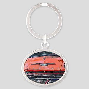 59 Pink Desoto (2000x1333) Oval Keychain