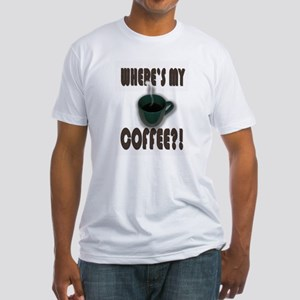Coffee Addict Three Fitted T-Shirt