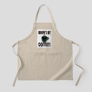 Coffee Addict Three BBQ Apron