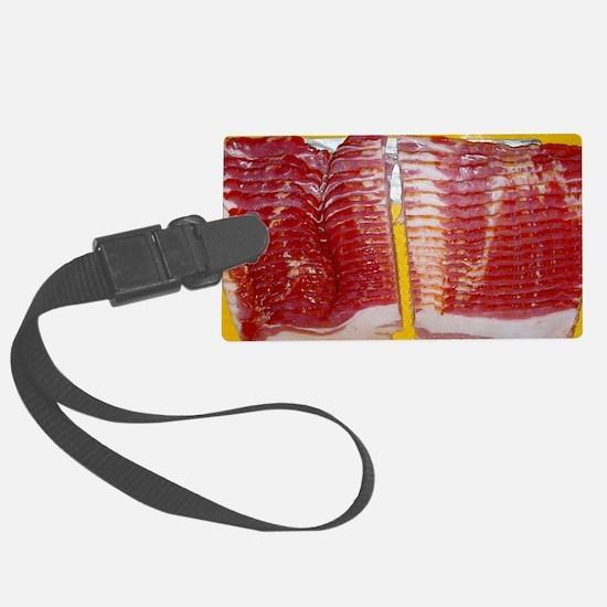 bacon laptop skin Luggage Tag