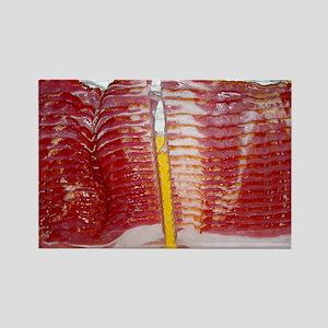 bacon laptop skin Rectangle Magnet