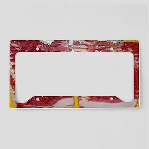 bacon laptop skin License Plate Holder