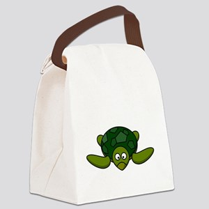 Shell Yeah White Canvas Lunch Bag