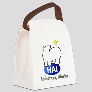 hai3d Canvas Lunch Bag