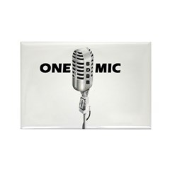 ONE MIC Rectangle Magnet (10 pack)