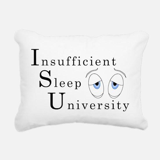 ISU Light Rectangular Canvas Pillow