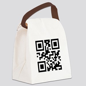 stop_scanning_me_white_scmall Canvas Lunch Bag