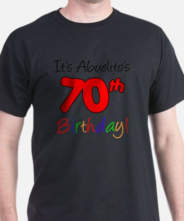 Abuelitos 70th Birthday T-Shirt