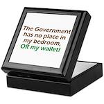 Smaller Government Keepsake Box