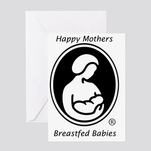 LLL Logo Breastfed Babies Greeting Card