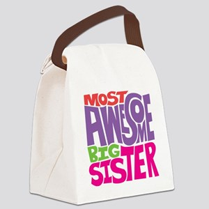 THE BIG SISTER FINAL Canvas Lunch Bag
