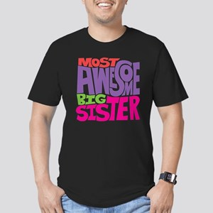 THE BIG SISTER FINAL Men's Fitted T-Shirt (dark)