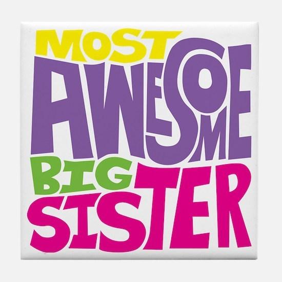 THE BIG SISTER FINAL2 Tile Coaster