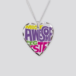 THE BIG SISTER FINAL2 Necklace Heart Charm