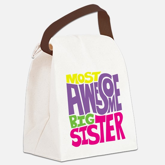 THE BIG SISTER FINAL2 Canvas Lunch Bag