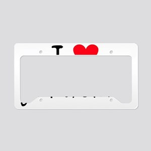 iheartgilamonsters License Plate Holder