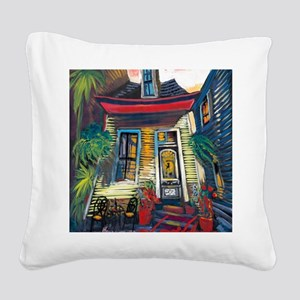 Waiting for You (2400x3000) Square Canvas Pillow