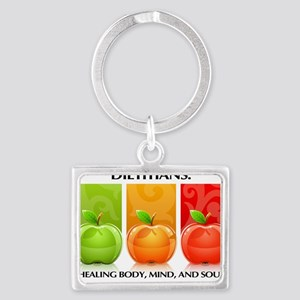 TDapples Landscape Keychain