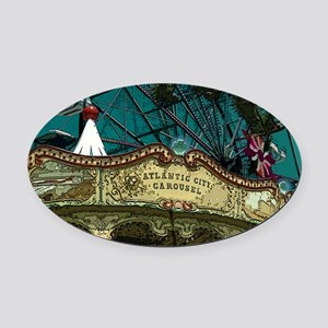 ACCarousel Oval Car Magnet