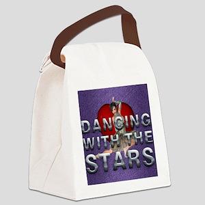 dancingwtslove1b Canvas Lunch Bag
