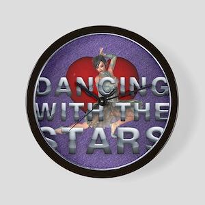 dancingwtslove1b Wall Clock