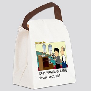 Long Service Canvas Lunch Bag