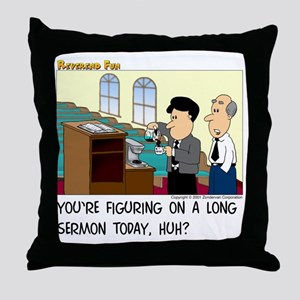 Long Service Throw Pillow