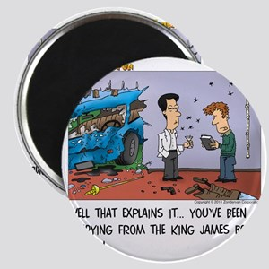 King James Bond Version Magnet