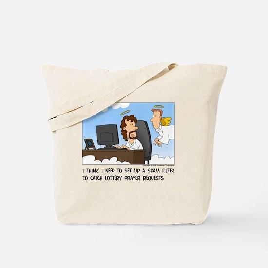 Prayer Requests Tote Bag
