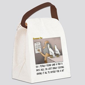 Secret on the Ark Canvas Lunch Bag