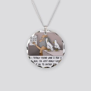 Secret on the Ark Necklace Circle Charm