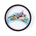 Fairy Flight Wall Clock