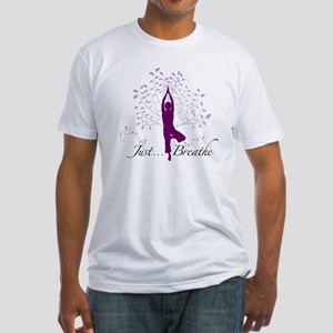 JustBreathe Fitted T-Shirt