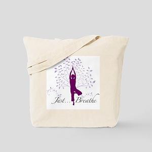 JustBreathe Tote Bag
