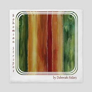 Bohemian Stripes Queen Duvet