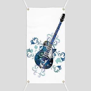 Urban Legend Grunge Guitar Rotated with  Ne Banner
