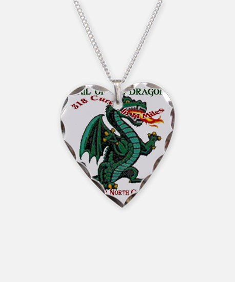 Flaming Dragon Tail of the Dr Necklace