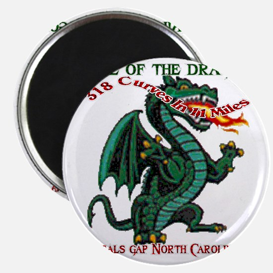 Flaming Dragon Tail of the Dragon Deals Gap Magnet