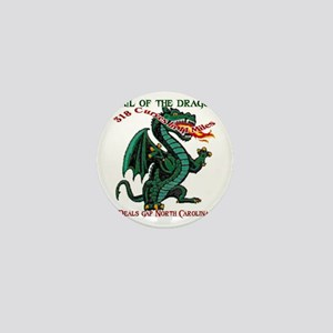 Flaming Dragon Tail of the Dragon Deal Mini Button