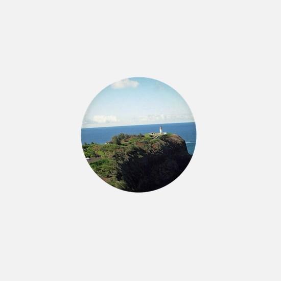 Kilauea lighthouse kauai Mini Button