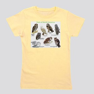 Owls of North America Girl's Tee